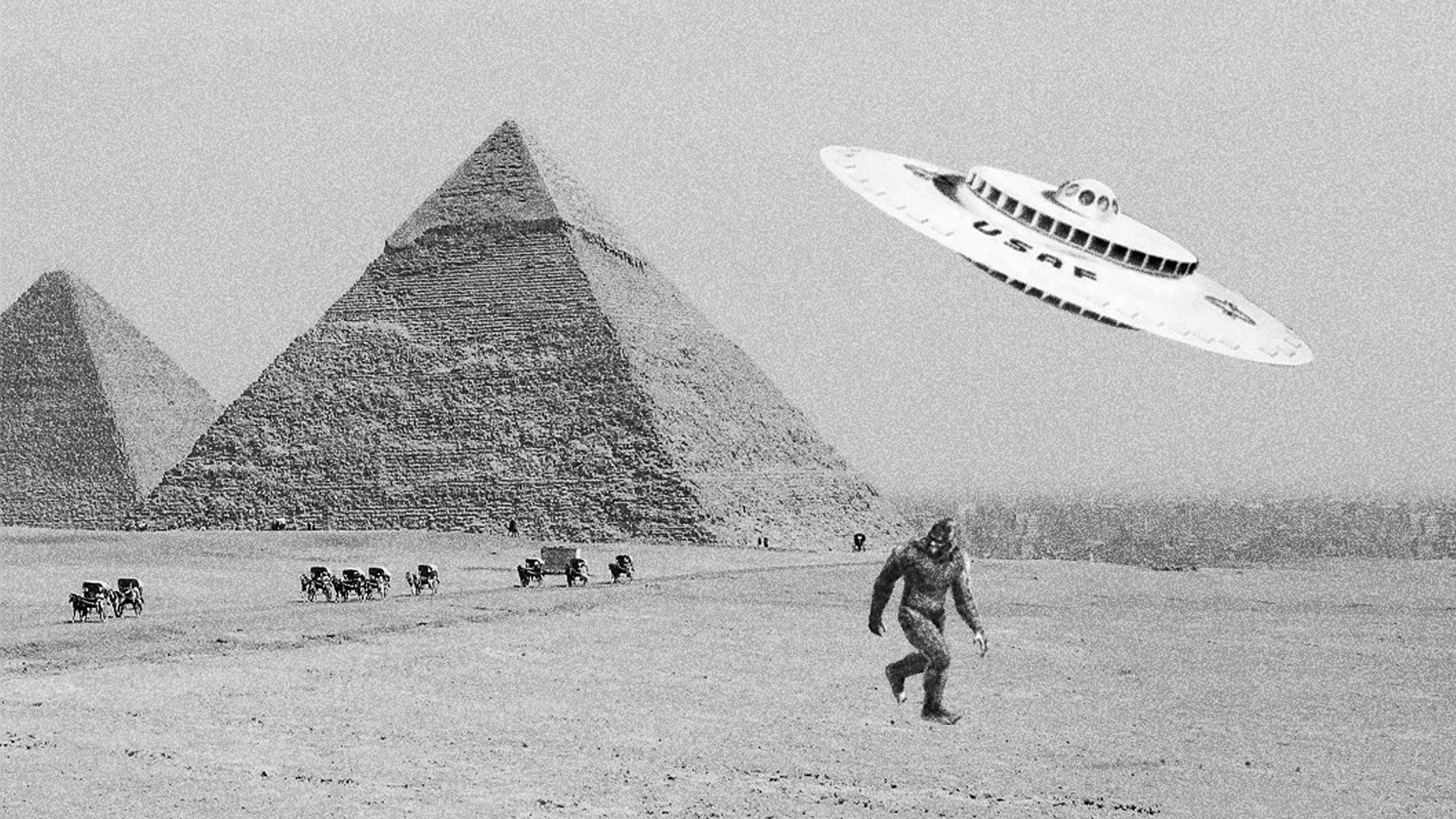 Bigfoot in Giza