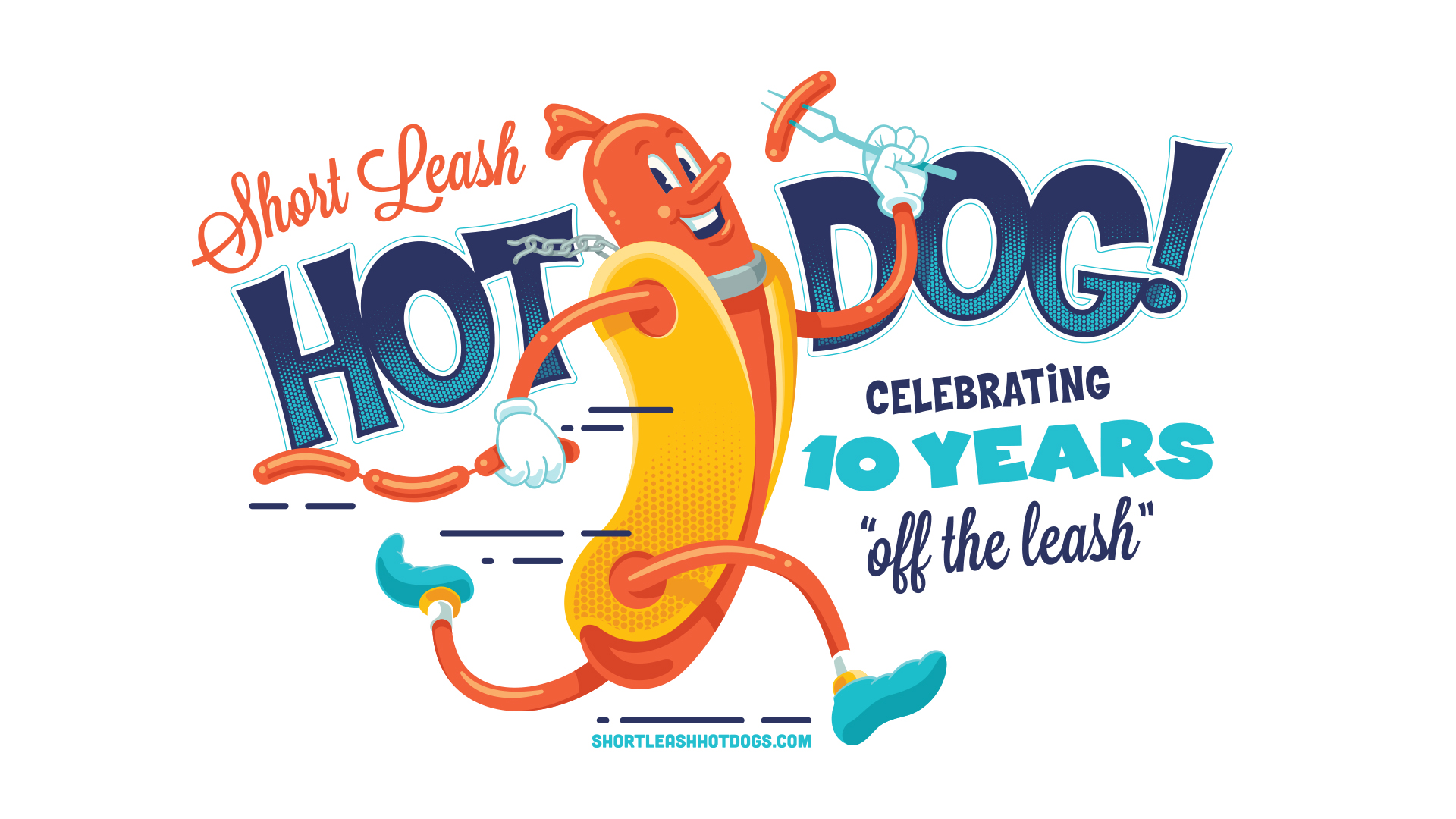 Shortleash Hot Dogs 10th Anniversary